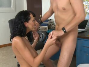 Alia Janine & Kris Slater in My First Sex Teacher