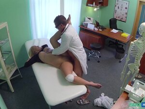 Bamby in Doctors cock heals sexy squirting blondes