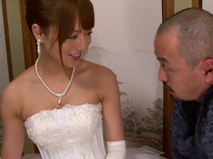 Akiho Yoshizawa in Bride Fucked by her Father in