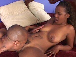 Passionate black girl delights getting hardcore