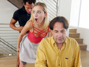Haley Reed gets fucked and her dad is none the