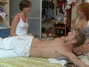 Crazy group sex with two hotties scene 2, If you