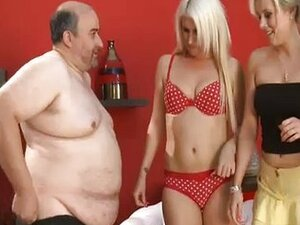 Sexy babes laugh at fat guys little dick