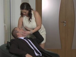 Mom xxx: Big breasted wife loves cock