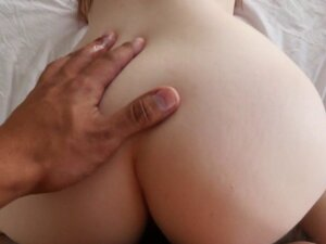 Real stepsister spanked while riding cock