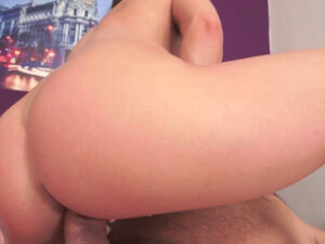 Teen rides old mans dong for creampie