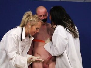 Cfnm doctor face jizzed