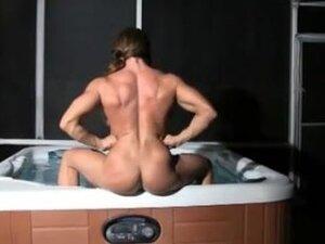 Sexy fbb hot tub
