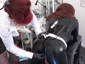 Madame c fucks rubber doll scarlet harlot