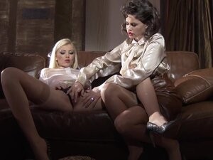 Fabulous pornstars Dona Bell and Chintya Doll in