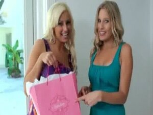 Milf Shows Teen how to be a Lesbian 14