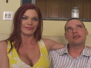 Beautiful Redhead Gets Hard Cock From New Guy