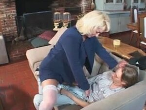 Lustful mother I'd like to fuck Teaches Ger Son's