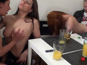 Hot Young Strippers Have Orgy With Rich Men, Hot