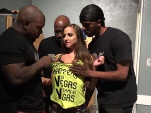 Euro Babe Amirah Adara Gets Gang Banged By Black