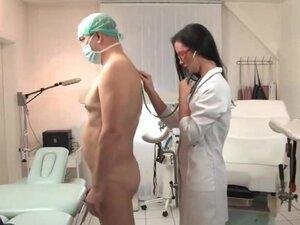 Nurse femdom fisting prostate patient,