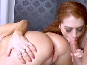 Darla Crane teaches slut how to get fucked and how