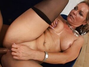 Sexy Blonde Sucked And Fucked And Got A Cream