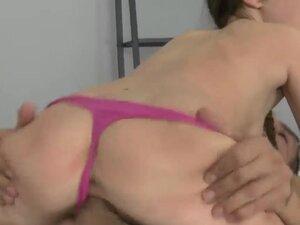 Petite young brunette slut Sandra Luberc wiht