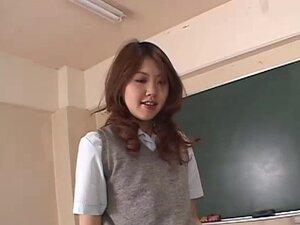 Asian Schoolgirl Getting Horny