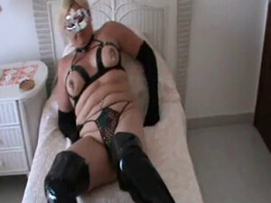 ALL DRESSED UP IN MY PVC BOOTS