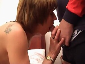 Sexy Granny Getting Her Pussy Pounded, Eva is the