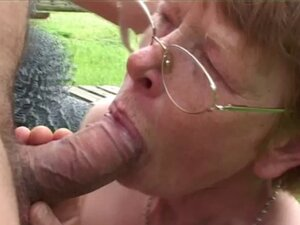 Ugly granny gets fucked hard