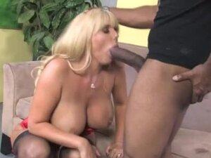 Mature couger interracial fuck and facial