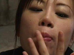 Alluring Asians are sharing tasty cumshots