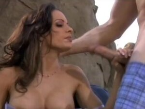 Horny pornstar Vanessa Lane in exotic lingerie,