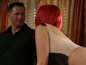 Massive boobs red haired whore Siri fucked and