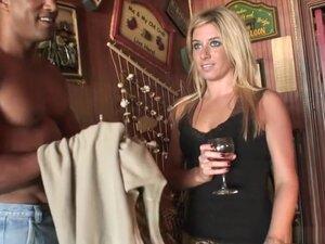 Exotic pornstar in fabulous interracial, blonde