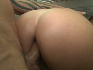Sophie Dee gets cum deposit in her fabulous booty