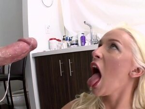 Blonde Teases Hung Doctor And Gets Fucked, Blonde