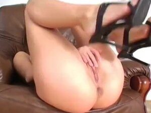 Sweet Sabrina loves her pussy
