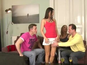 A Group Of Swingers Exchange Partners And They Go