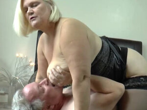 Granny loves a big hard cock cumming in her pussy
