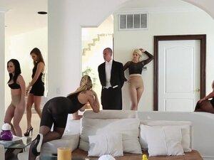 Crazy pornstars Riley Reid, Holly Taylor and