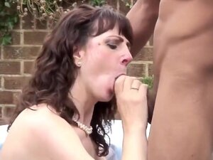 British mother takes black cock for first time,