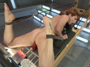 Curvy ass anal slut fucking machines
