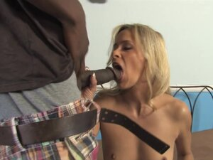 Payton Leigh gets her mouth and cunt brutally