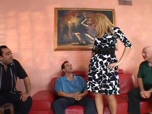 Chelsea Gets Fucked As Hubby Looks On, Blond wife