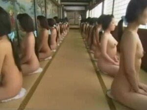 japanese ooku girl naked dance and sex,