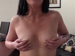 BACKROOM CASTING COUCH - Inked Babe Hailey Casting