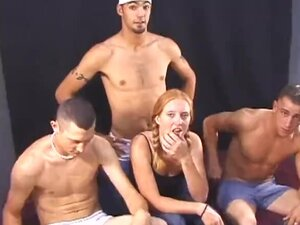 Group sex always brought out the kinky in her