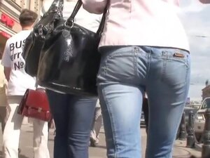 Young girl with long legs and elastic ass in the