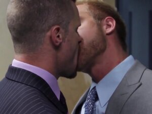 Office hunk riding thick cock with tight ass,