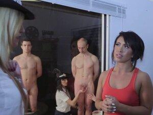 Cfnm police mistress mock