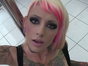 BurningAngel Emo Punk Jesse Lee Strip Pole POV