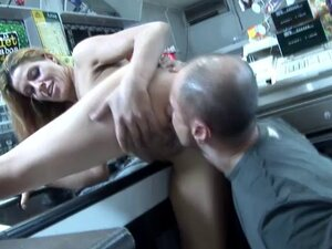 Nasty chick Priscilla takes a ride on a cock in a